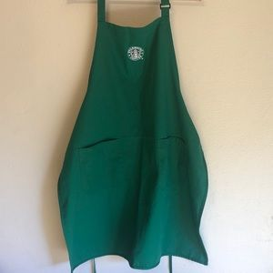 Starbucks embroidered apron